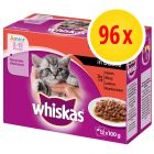 Whiskas Junior Maaltijdzakjes 96 x 85 g / 100 g