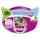 Whiskas Junior snacks con leche