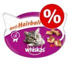 Whiskas snacks para gatos - Pack económico