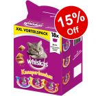 Whiskas Temptations Treats XXL Mixed Pack - 15% Off!*