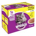 Whiskas 1+ Adult Menuboks, Fjerkræ i gelé