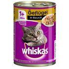 Whiskas 1+ Adult på burk 12 x 400 g