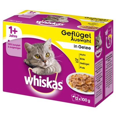 Whiskas 1+ Adult Pouches 24 x 85 g / 100 g