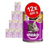 Whiskas Adult, 12 x 400 g