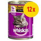 Whiskas Adult 1+ 12 x 400 g