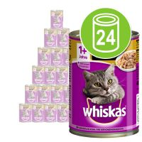 Whiskas Adult 1+ 24 x 400 g pour chat