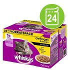Whiskas 1+, adulte 24 x 100 g