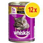 Whiskas 1+ años en lata 12 x 400 g