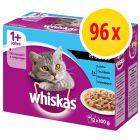 Whiskas 1+ años 96 x 100 g en bolsitas
