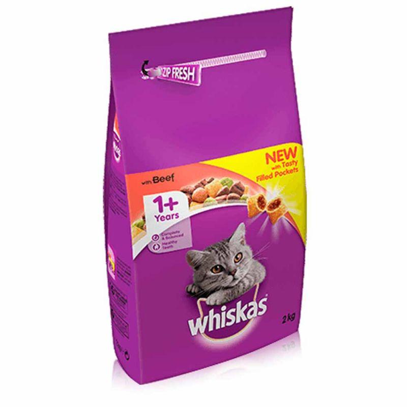 Whiskas 1+ Beef