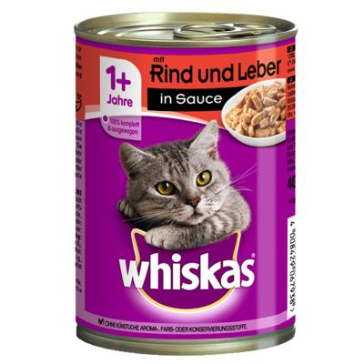Whiskas 1+ Cans Saver Pack 24 x 400g