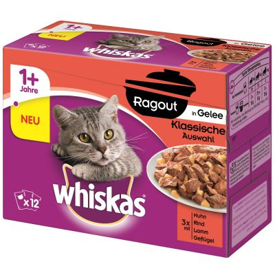 Whiskas 1+ Casserole Meaty Selection in Jelly