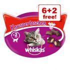 Whiskas Cat Snacks - 6 + 2 Free!*