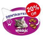 Whiskas Cat Treats - 20% Off!*