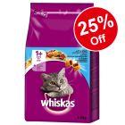 Whiskas Dry Cat Food - 25% Off!