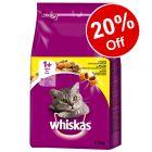Whiskas Dry Cat Food - 20% Off!