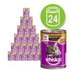Whiskas 1+ dåser 24 x 400 g