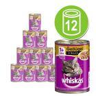 Whiskas 1+ dåser 12 x 400 g