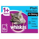 Whiskas 1+ Fish Selection in Gravy