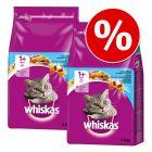 Whiskas gazdaságos csomag: 2 x 950 g / 1,9 kg / 3,8 kg