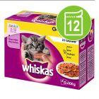 Whiskas Junior buste 12 x 100