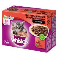 Whiskas Junior kapsička 12 x 85 g / 100 g