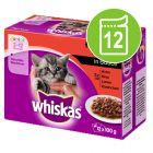 Whiskas Junior 2-12 meses 12 x 85/100 g en bolsitas