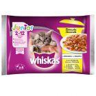 Whiskas Junior 2-12 meses 12 x 85 g en bolsitas - Pack mixto