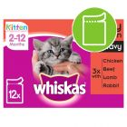 Whiskas Junior porsjonsposer 12 x 100 g