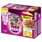 Whiskas Junior Ragout Menuboks, Fjerkræ i gelé