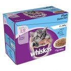 Whiskas Kitten Menuboks, Fisk i gelé