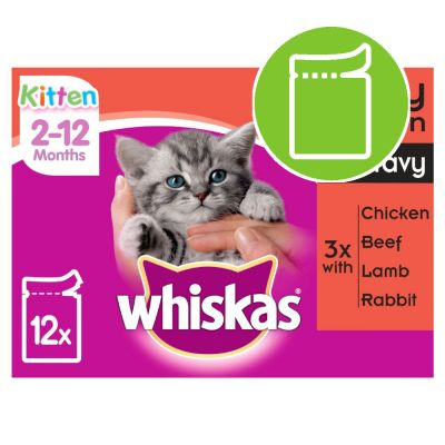 Whiskas Kitten Pouches