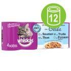 Whiskas La Carte 12 x 390 / 400 g en latas
