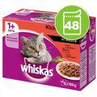 Whiskas 1+ Marmiton 48 x 85 g