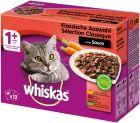 Whiskas 1+ Meaty Selection in Gravy