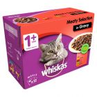 Whiskas 1+ Meaty Selection in Gravy
