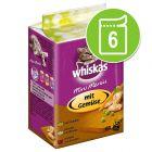 Whiskas Mini Menus saquetas 6 x 50 g