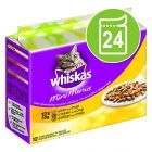 Whiskas Mini Menus saquetas 24 x 50 g - Pack económico
