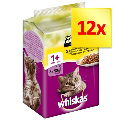 Whiskas Mini Menus 12 x 50 g
