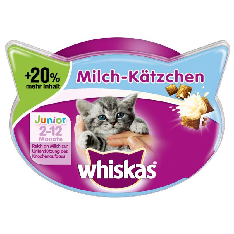 Whiskas Mléčná svačinka pro koťata +20% více obsahu