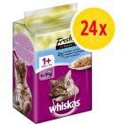 Whiskas Platitos del día 24 x 50 g en bolsitas