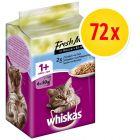 Whiskas Platitos del día 72 x 50 g en bolsitas - Pack %