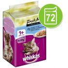 Whiskas Platitos del día 72 x 50 g en bolsitas - Pack Ahorro
