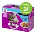 Whiskas  Porsjonsposer 24 x 100/85 g