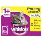 Whiskas 1 + porsjonsposer 12 x 100/85g