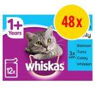 Whiskas 1+ Pouches Multibuy 48 x 100g