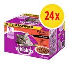 Whiskas Pouches -säästöpakkaus 24 x 100 g