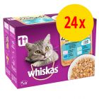 Whiskas Pure Delight + 1 Adult 24 x 85 g