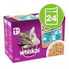 Whiskas Pure Delight + 1 Adult 24 x 85 g pour chat