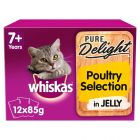 Whiskas 7+ Pure Delight Poultry Selection in Jelly